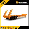 Brand 40ft 20ft new chassis trailer for sale flat bed semi trailer