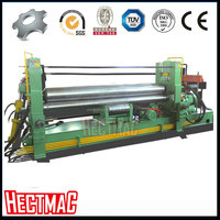 hect Economic durable W11S upper roller universal plate rolling machine Beautiful shape