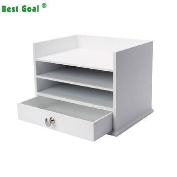 Awesome White Wooden Desktop Organizer With 3 Letter Trays And Drawer Buy Storage Organizer Desk Organizer Wood Desk Organizer Product On Alibaba Com Download Free Architecture Designs Oxytwazosbritishbridgeorg