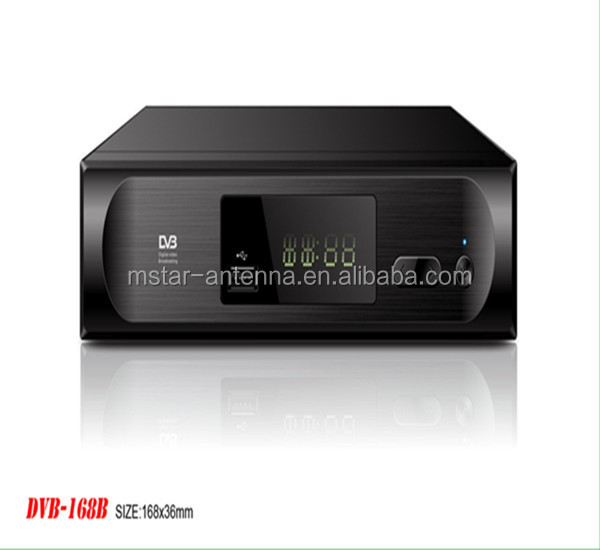 Cheap android hybrid custom firmware IPTV DVB-T2 cable car conax set top box price