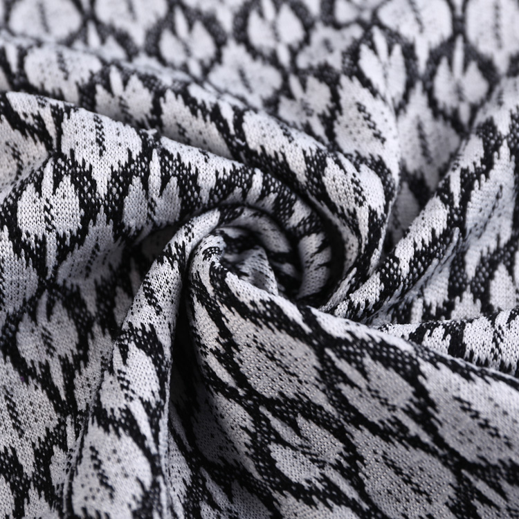 Factory direct sale jacquard knitted pvc coated polyester nida fabric tube