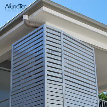Interior Aluminum Shutter Louver Shutters With Operable Blade