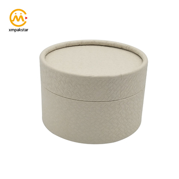 Customized cardboard tube round packaging boxes for loose tea