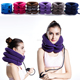 Air inflated Neck support soft neck pain relief cervical traction