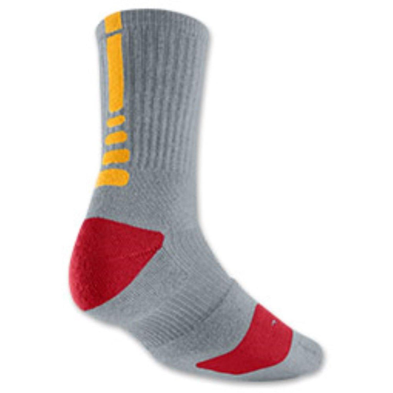 e3d6c1774ce3 Buy Nike Elite Mens Lebron Basketball Crew Socks Medium (Size 6-8 ...