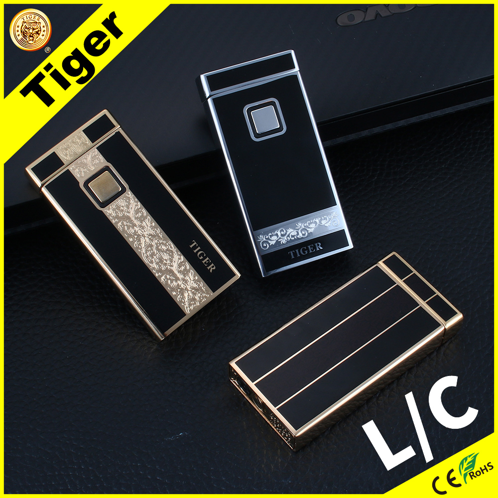 Sublimation Tiger TW901 J-2 Kitchen Gas Rechargeable Lighter Custom Arc