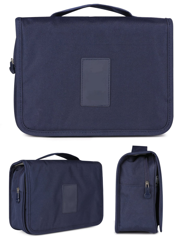 CINEEN Travel Handbag Multifunctional Cosmetics Wash Waterproof Bag Navy Blue