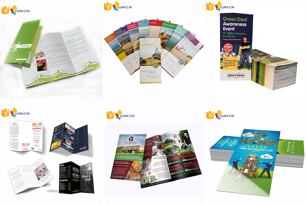 2bf49487e5d1b0 Cheap Promotion Flyer Leaflet Printing Service - Buy Round Brochure ...
