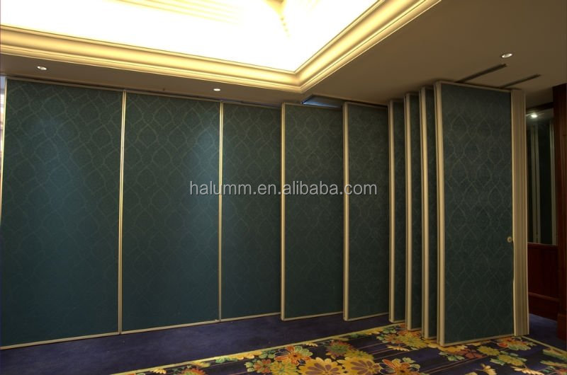 Sound Acoustic Movable Partition Wall Room Divider For Hall