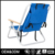 Portable Camping Reclining Detachable Compact Pvc Fabric Kid Lounge Portable Aluminum Folding Beach Chair