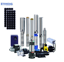"3"" 4"" 6"" DC brushless submersible solar water pump with MPPT controller"