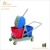 Down-press 36L High Quality double mop bucket with wringer