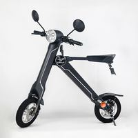 Best gift!!! Two wheels electric bike 36v/48v fashion electric scooter foldable