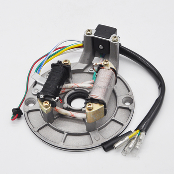 2 Coil Ignition Stator Magneto Plate For Pit Dirt Atv 50cc 70cc 90 110cc  125cc - Buy Jh70 Magneto Coil,Motorcycle Atv Ignition Coil For 50cc 70cc  110