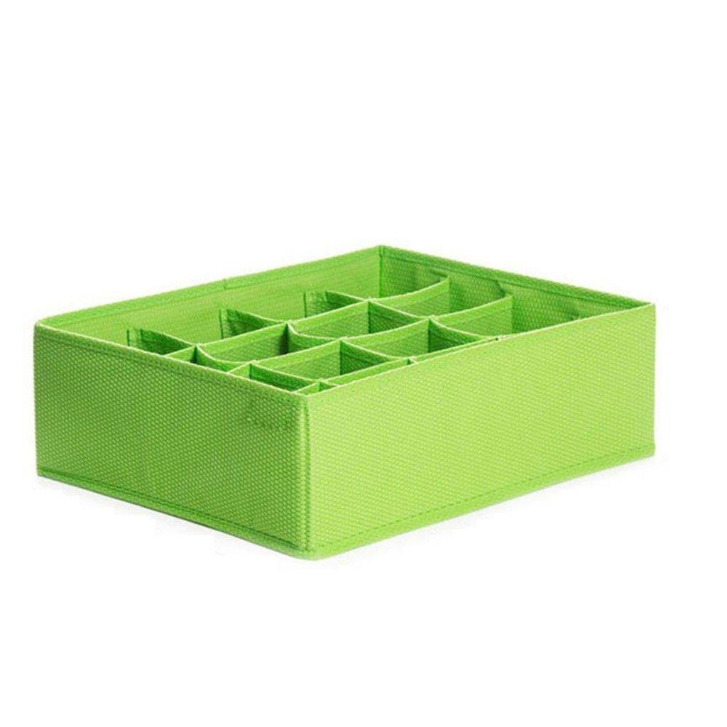 Kaxima Charcoal antibacterial, bra socks sorting box, underwear storage box, 16 grid, storage box, 38.5x30x12cm