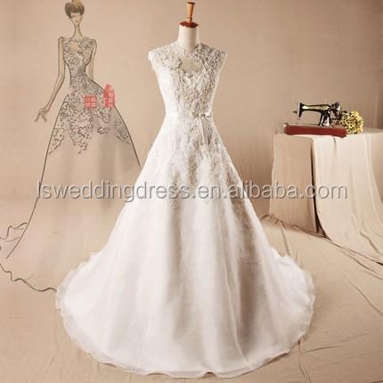 Ah142 Very Simple Wedding Dress Wedding Gown Designs Anne Neckline ...