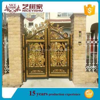 Aluminum Garden Main Gate Design,Aluminium Gates,Gate Color Design ...
