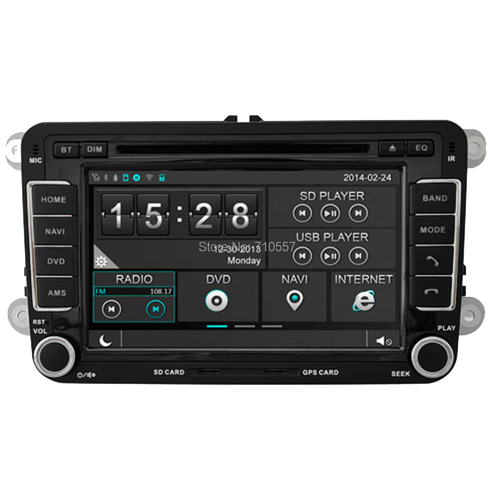 capactive touch screen car dvd gps navi autoradio for vw. Black Bedroom Furniture Sets. Home Design Ideas