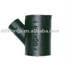 Y TEE CAST IRON PIPE FITTINGS (SANITARY PIPE FITTINGS)