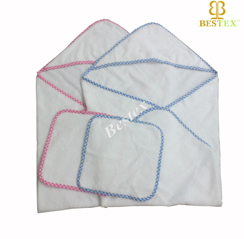 Super soft High quality Woven Cotton terry towel blanket baby