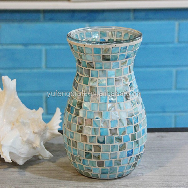 Mosaic Glass Vases Pearl Source Quality Mosaic Glass Vases Pearl