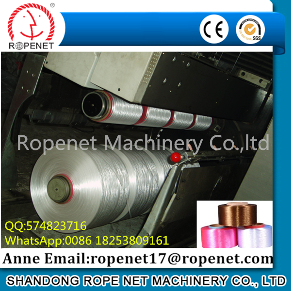 PP High Tenacity multifilament FDY spinning Machine