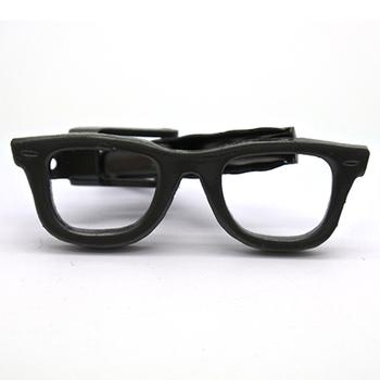 ae5a10ff19fd5 Casamento feito sob encomenda Homens Pretos Óculos Prendedor de Gravata Bar  Empate Fabricantes