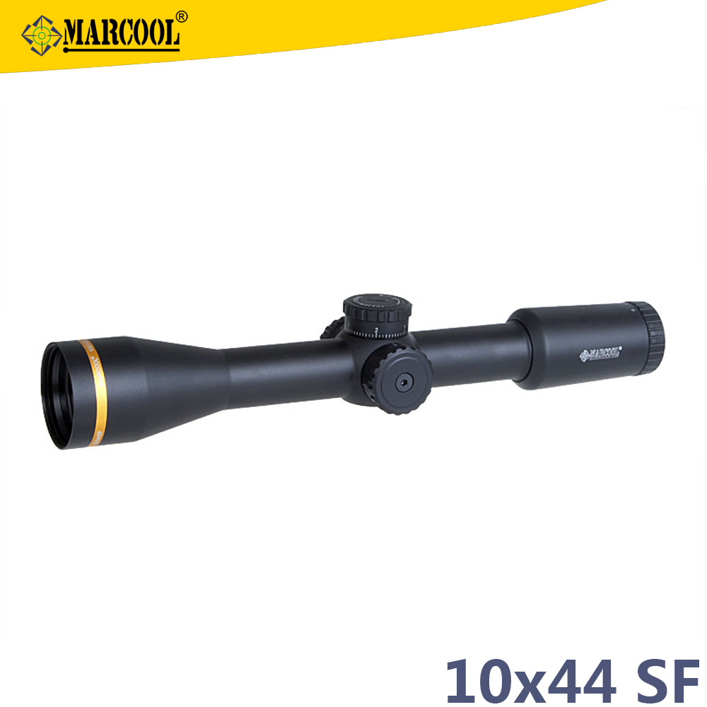 Scopes & Accessories Riflescopes Marcool BLT 10X44 SF (HY1301) Multi-green Coated optical sight scope for pig hunting