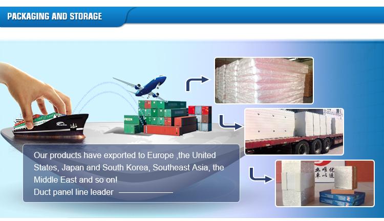 Pir Polyisocyanurate Foam Insulation Board/Pu Air Duct Board Air Conditioning Duct Board Pir/Pu Sheet