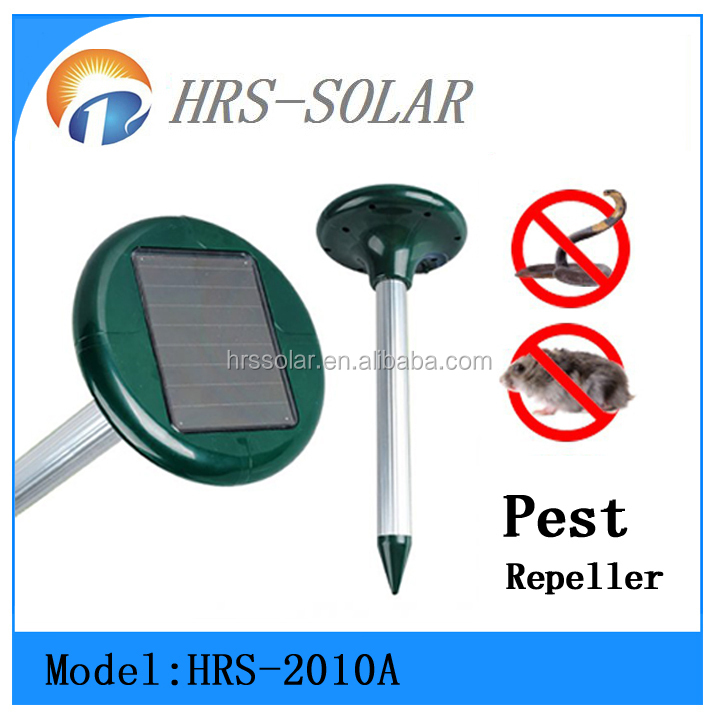Outdoor solar energy Ultrasonic Mouse rat Away repeller