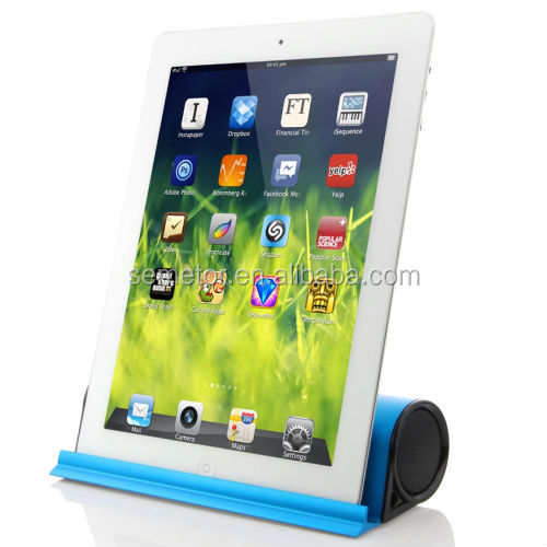 Multifunction mini portable rechargeable bluetooth speaker with holder function