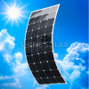 Highest efficiency Sunpower Solar Panel 100W 120W 130W 150W 180W 200W Semi Flexible Solar Panels, Marine Flexible Solar Panels