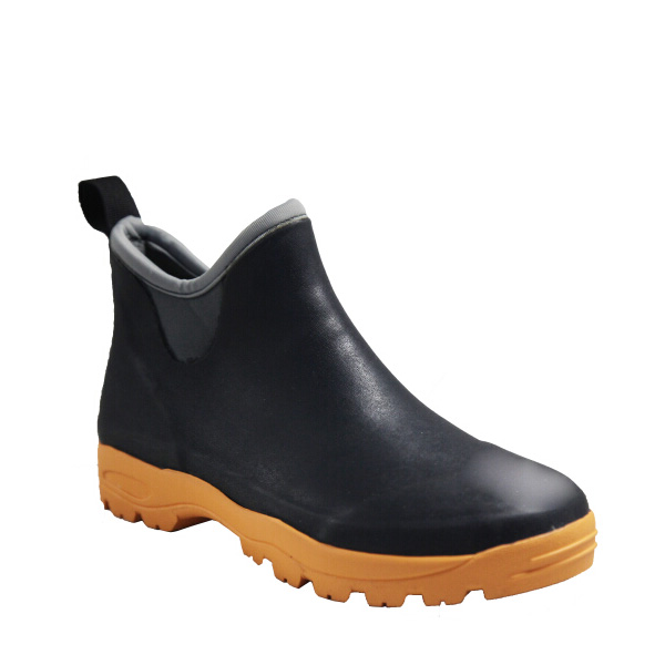 Low Waterproof Rubber Boots,Low Cut Rain Boots,Ladies Neoprene ...