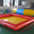 Customized Red Color Portable Square Small Inflatable Swimming Pool Float Inflatable Water Park Rental Pool For Sale