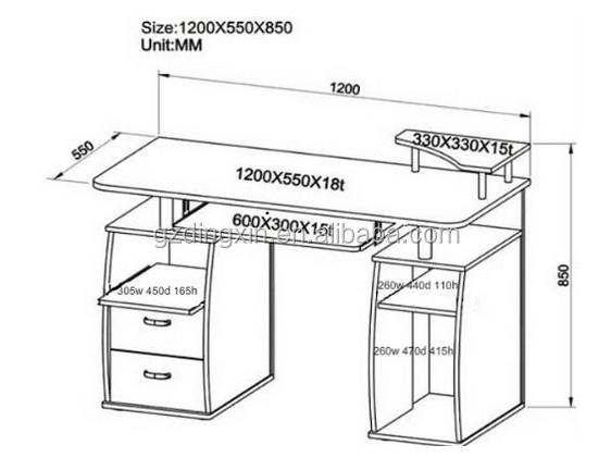 standard office desk dimensions wooden executive desk set. Black Bedroom Furniture Sets. Home Design Ideas
