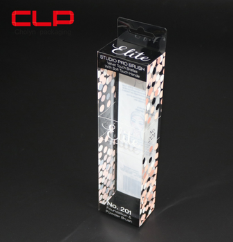 Custom Cosmetic Clear PVC Packaging Plastic Box Wholesale