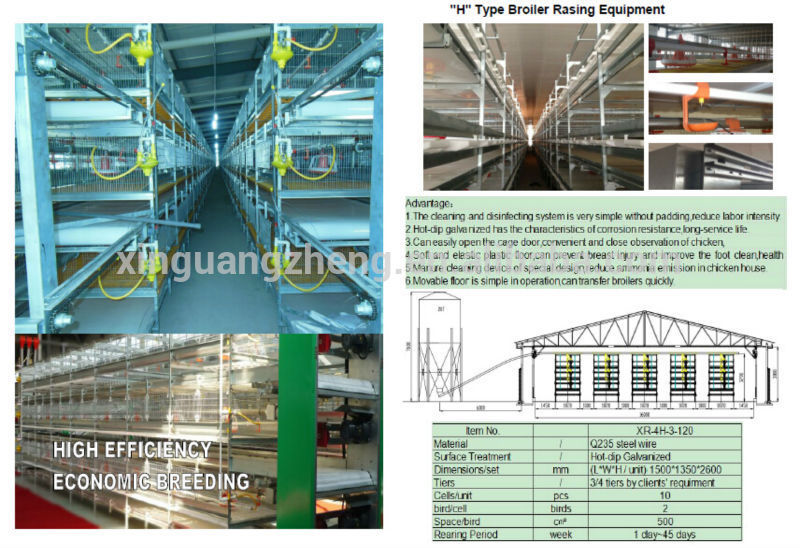 prefabricated poultry house chicken farm equipment