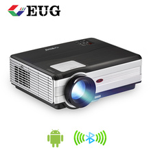 3000 lumen 160 W ha condotto il <span class=keywords><strong>proiettore</strong></span> wifi android <span class=keywords><strong>proiettore</strong></span> led del teatro domestico <span class=keywords><strong>rohs</strong></span> <span class=keywords><strong>proiettore</strong></span> lcd 1080 P