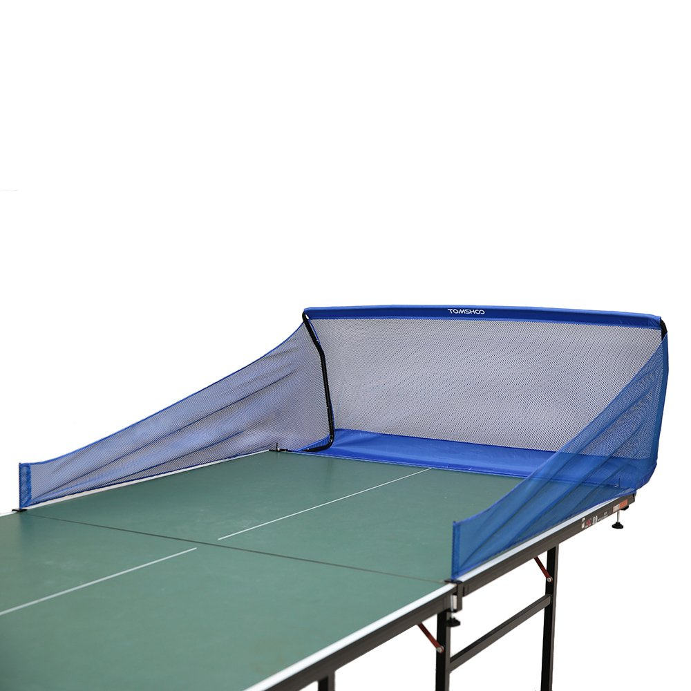 Tomshoo Table Tennis Catch Net Ping Pong Ball Training Collector Trainer Robot