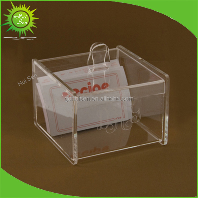 Clear Business Card Storage Box, Clear Business Card Storage Box ...