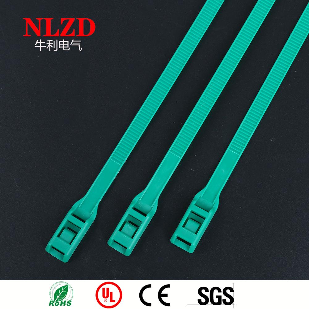 67b46720a54d Specialty Cable Ties Dark Green Color ZIp Tie,Tie Wrap In-line profile type