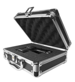 Black Aluminum Hard Briefcase With Customizable Foam - Buy ...