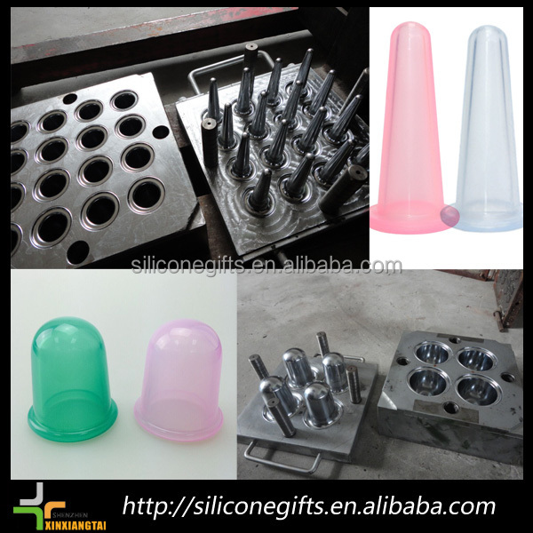 2019 Anti cellulite silicone cupping massage cup set with package /cups /cupping hijama