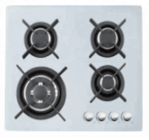 5 gas burner tempered glass panel auto ignition gas cooker stove