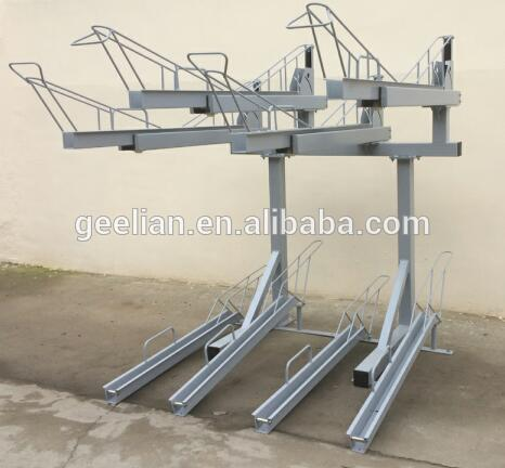 galvanized double bike rack cycling racks,cycling stand