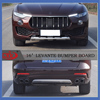 ABS Plastic Front and Rear Skid Plate for Levante