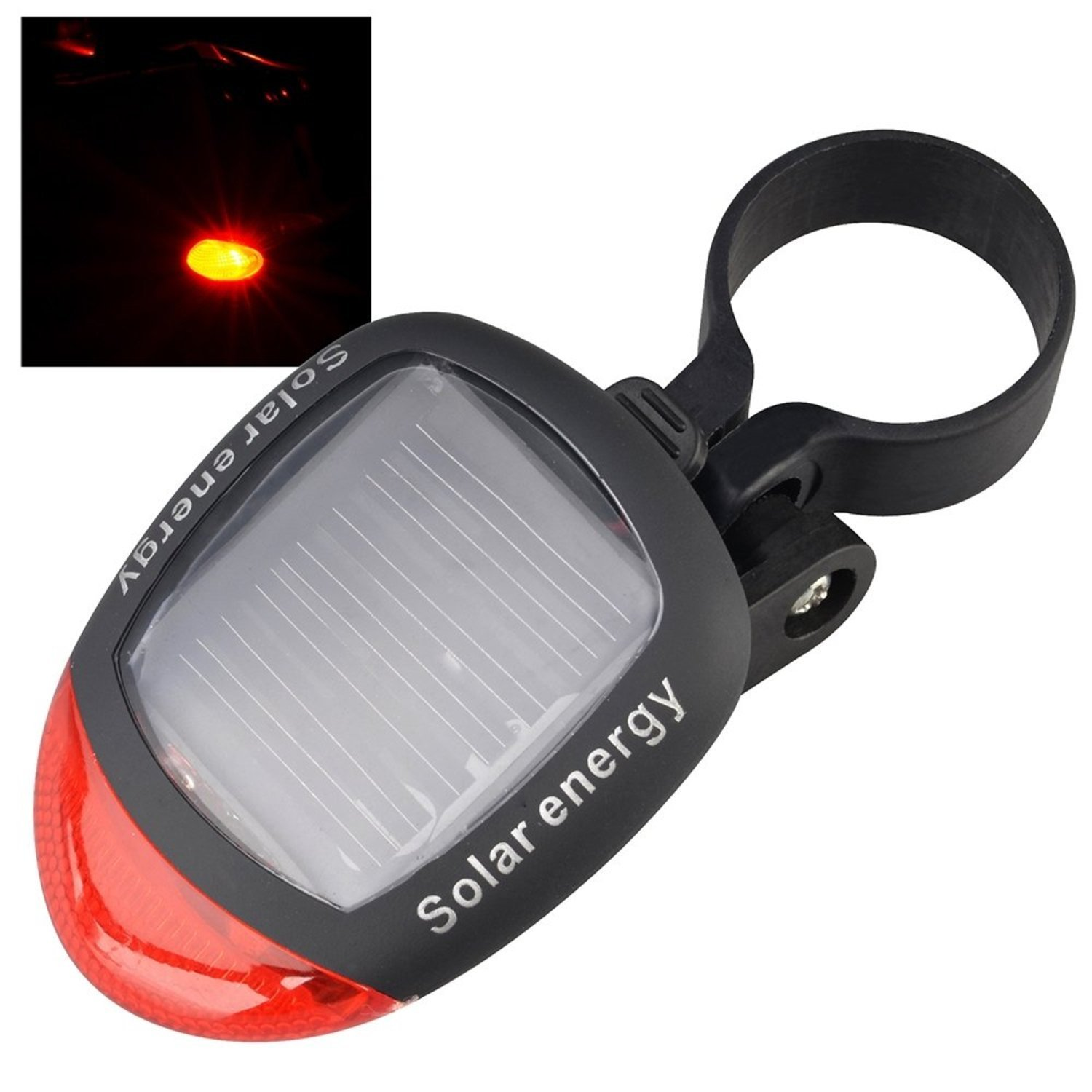 Theo&Cleo 2 LED Bicycle Solar Rear Lamp