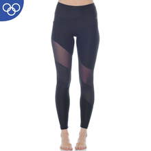 2018 Wholesale Yoga Wear Supplex Custom Black Tights Leggings For Women