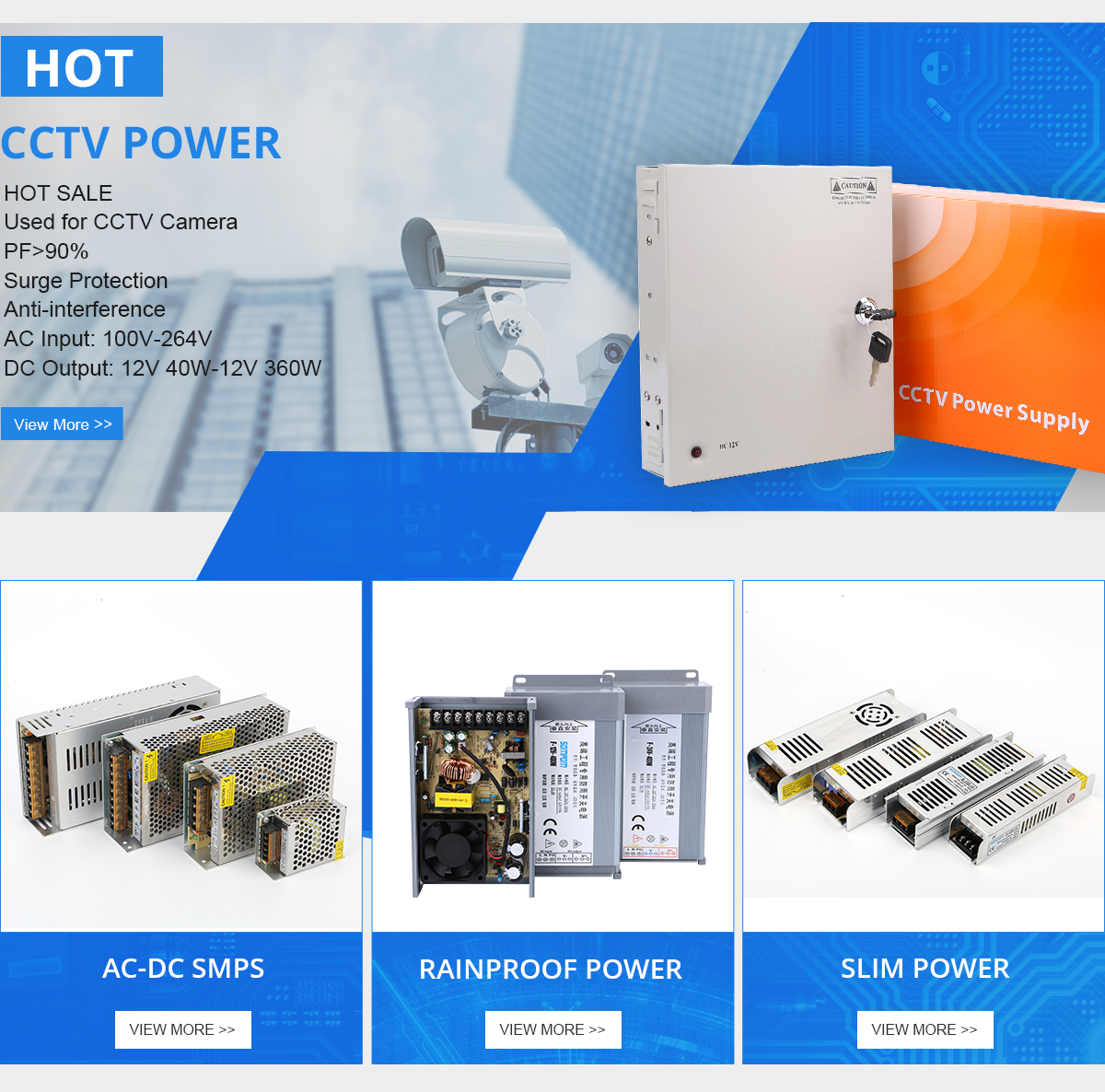 18 channel 12V DC CCTV Security Kameras Power supply Verteilung switch box