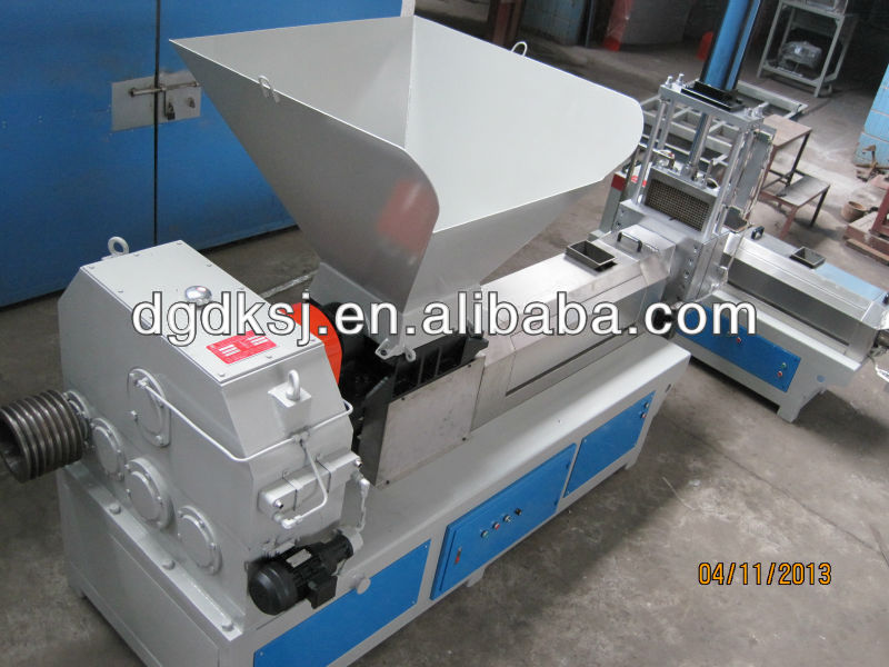 2013 NEW Waste PC CD DVD flake plastic pelleting machine